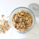 Rustic Maple Tahini Granola