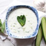 Mint and Cucumber Yogurt Sauce