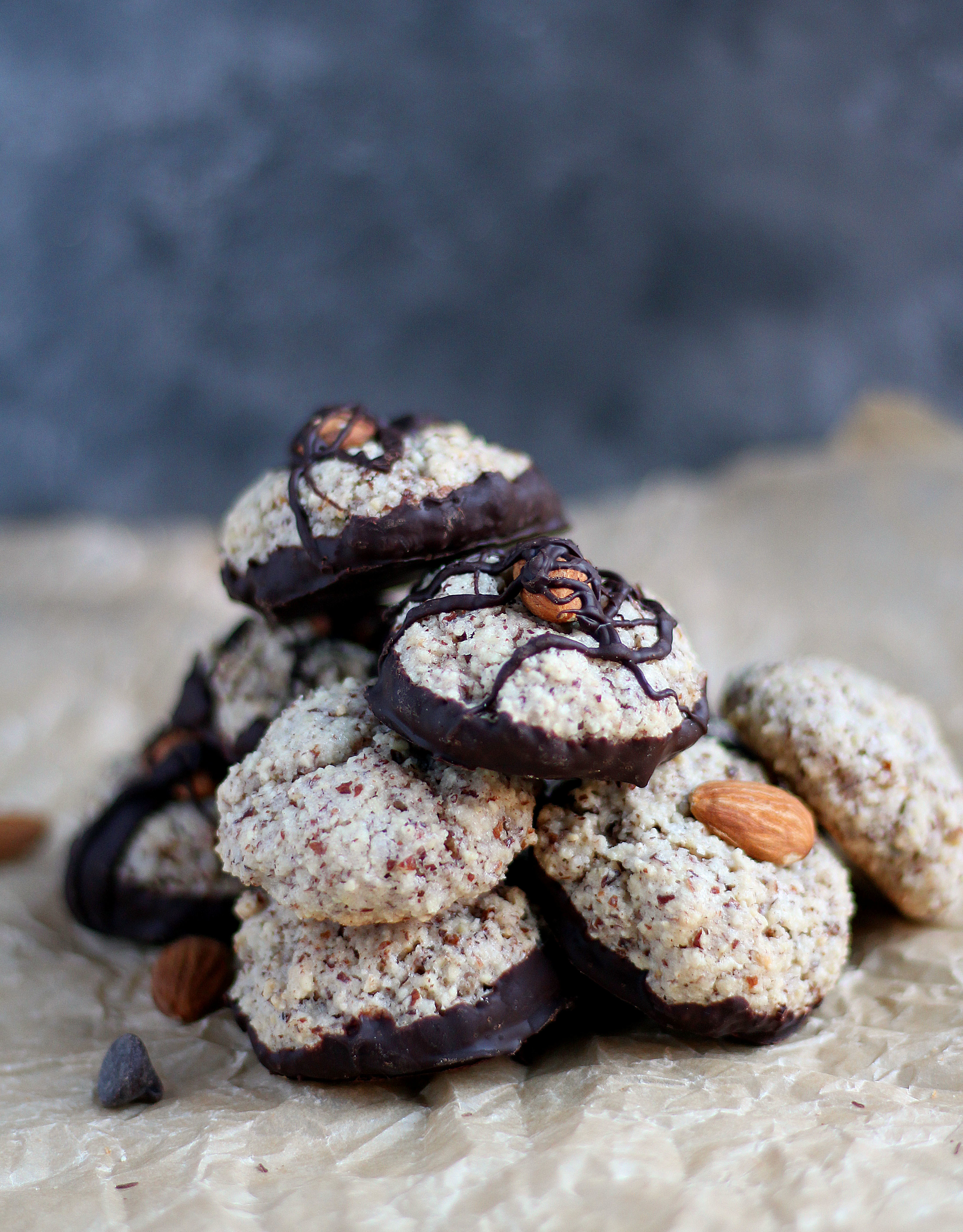 Rose Almond Macaroons - an easy and delicious chewy cookie!