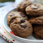 Chewy Double Ginger Chip Cookies